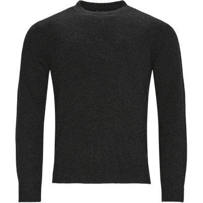 Patch Crew Knit Regular | Patch Crew Knit | Grå