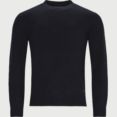 Patch Crew Knit Regular | Patch Crew Knit | Blå
