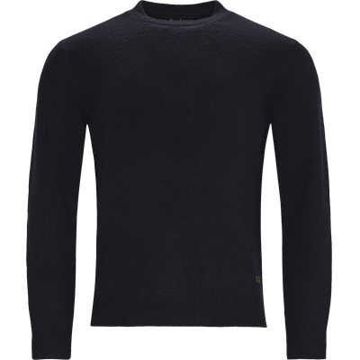 Patch Crew Knit Regular | Patch Crew Knit | Blå