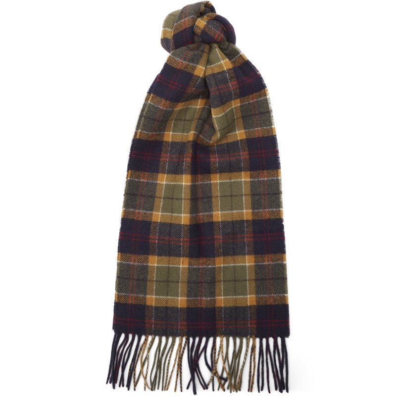 barbour – Barbour - tartan lambswool scarf fra kaufmann.dk