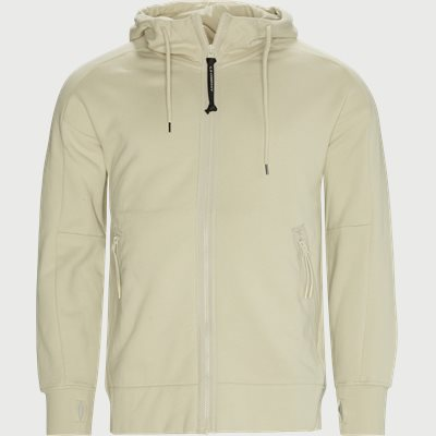 Diagonal Raised Fleece Goggle Zip Sweatshirt Regular | Diagonal Raised Fleece Goggle Zip Sweatshirt | Sand