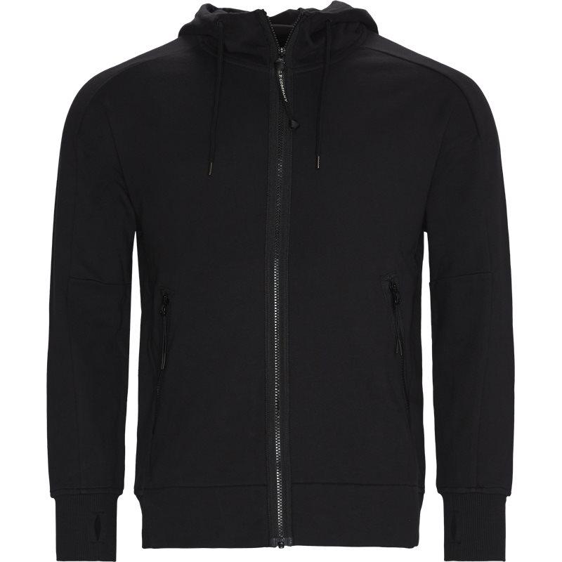 c.p. company C.p. company - diagonal raised fleece goggle zip sweatshirt på kaufmann.dk