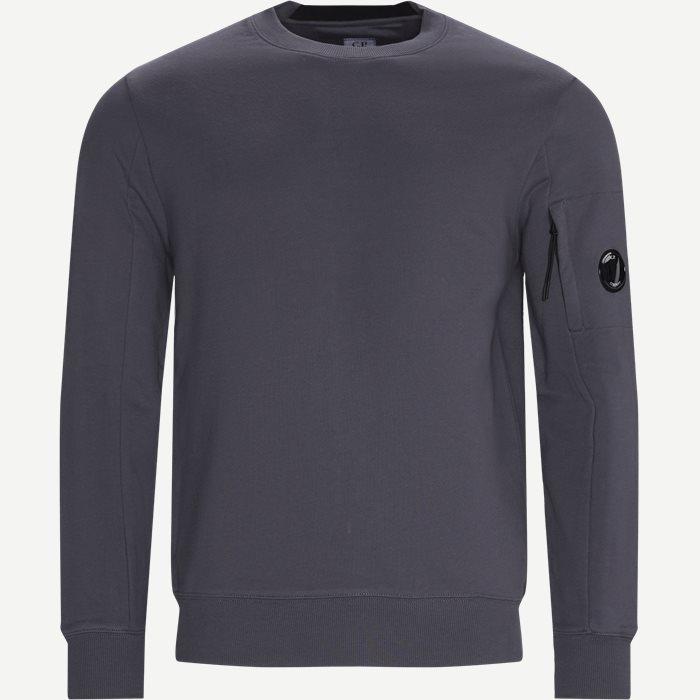 Lens Logo Crewneck Sweatshirt - Sweatshirts - Regular - Grå
