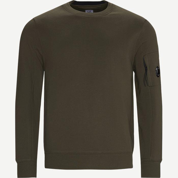 Lens Logo Crewneck Sweatshirt - Sweatshirts - Regular - Army
