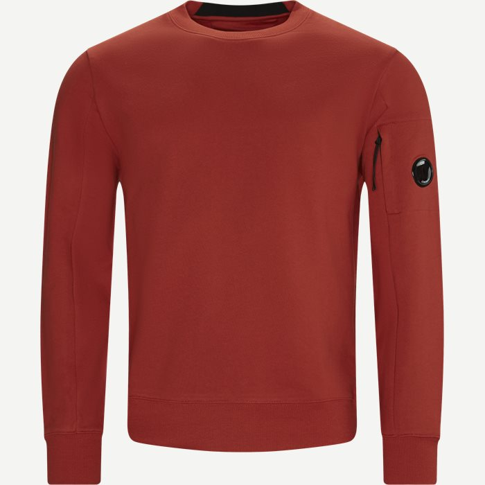 Lens Logo Crewneck Sweatshirt - Sweatshirts - Regular - Rød