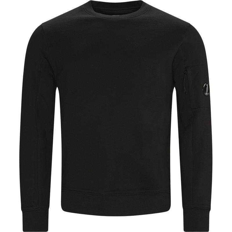 C.p. company - lens logo crewneck sweatshirt fra c.p. company fra kaufmann.dk