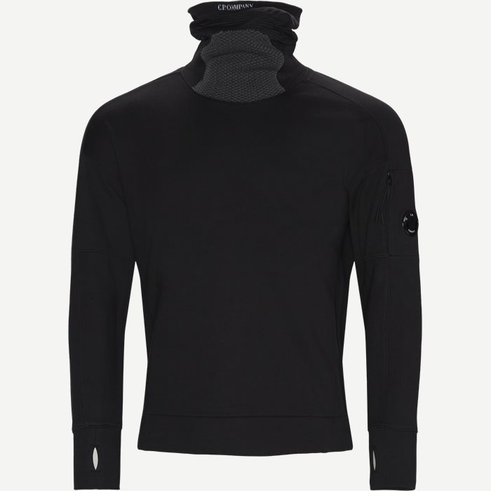 Sweatshirts - Regular - Black