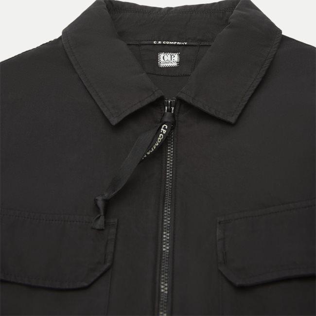 Lens Logo Gabardine Shirt
