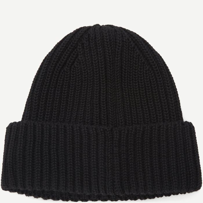 Goggle Logo Knit Cap - Caps - Sort
