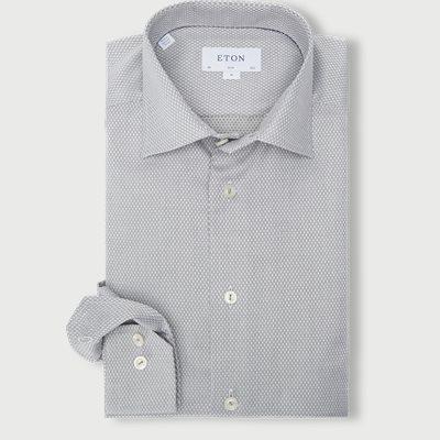 Dobby Shirt Dobby Shirt | Grön