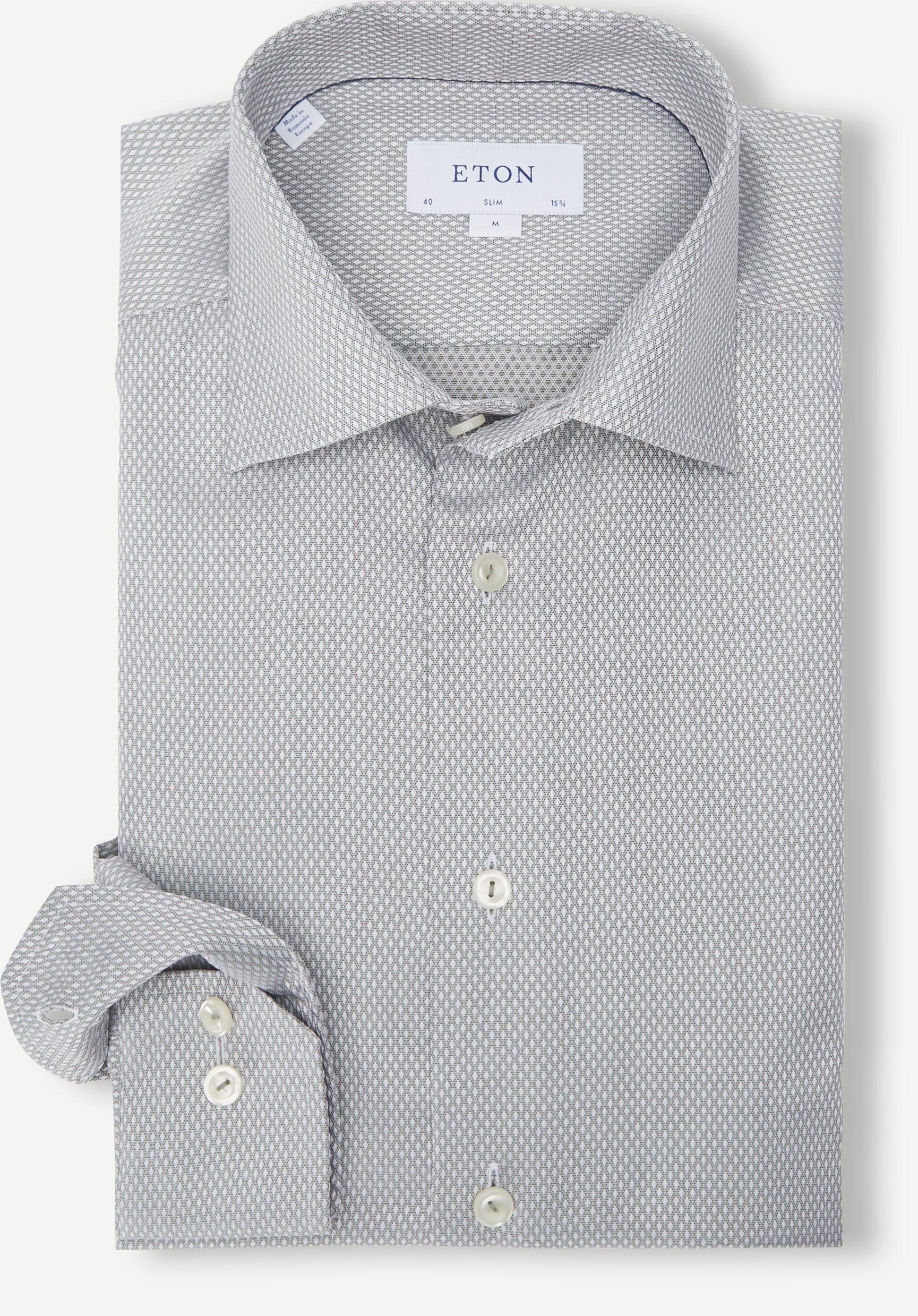 Dobby Shirt - Shirts - Green