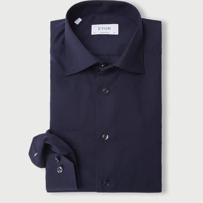 Twill Cotton Shirt Twill Cotton Shirt | Blå