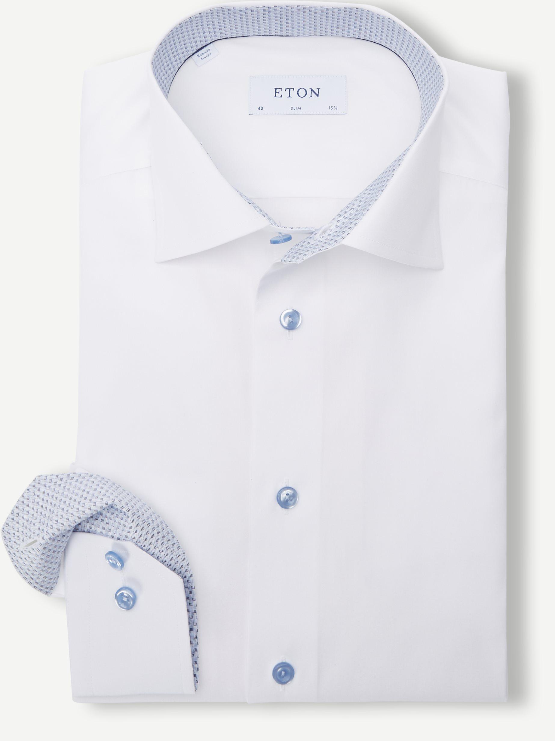 Poplin Shirt - Shirts - White