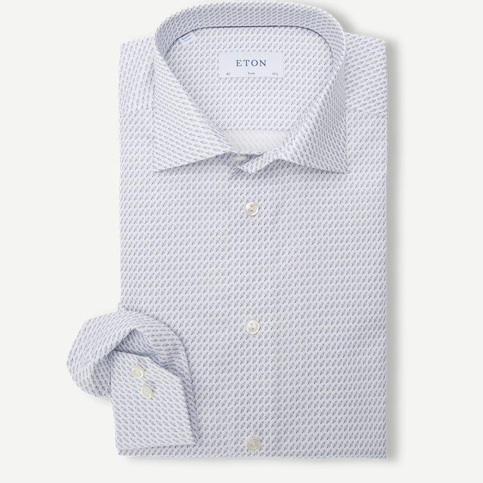 Poplin Shirt - Skjortor - Vit