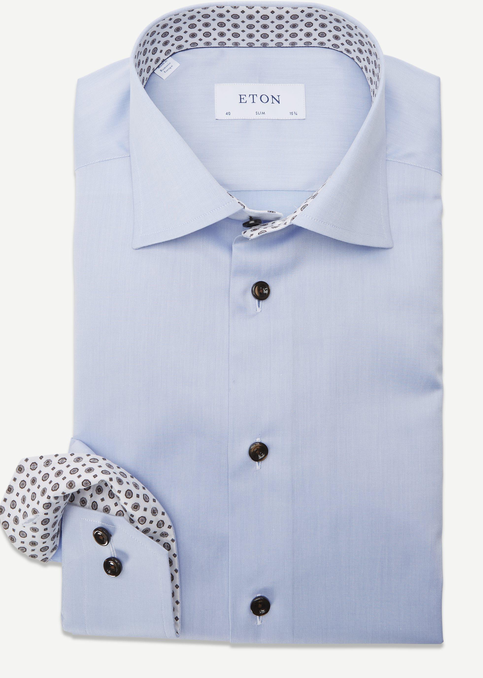 Signature Twill Shirt - Shirts - Blue