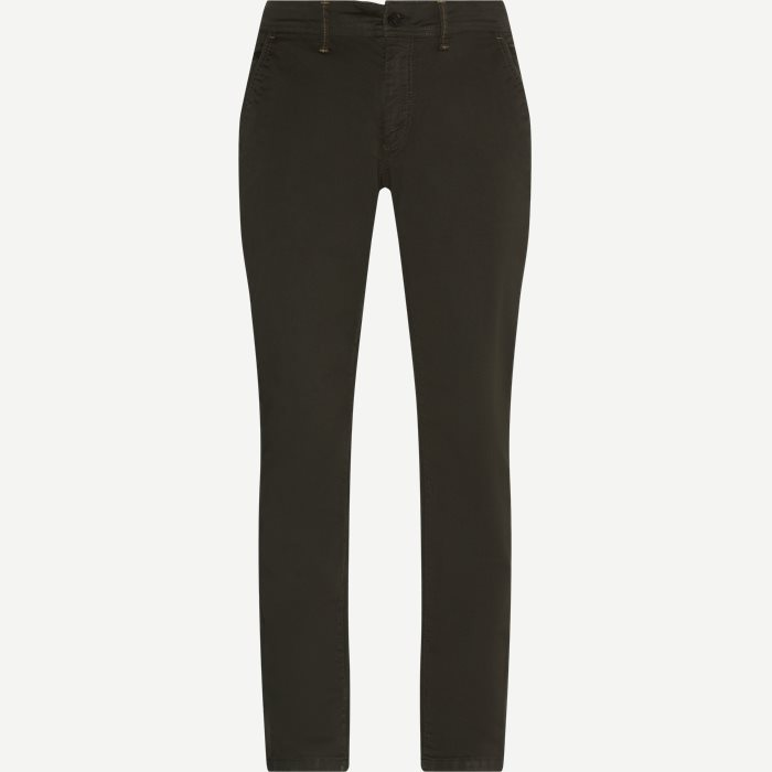 Victor Chino Pants - Bukser - Army