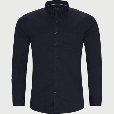 Franne Twill Skjorte Regular fit | Franne Twill Skjorte | Blå