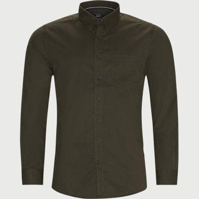 Franne Twill Skjorte Regular | Franne Twill Skjorte | Army