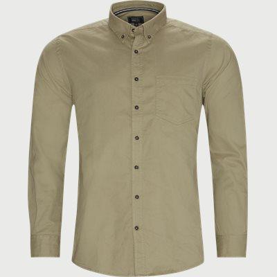 Franne Twill Skjorte Regular | Franne Twill Skjorte | Sand