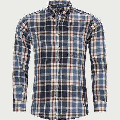 Franne Check Skjorte Regular | Franne Check Skjorte | Blå