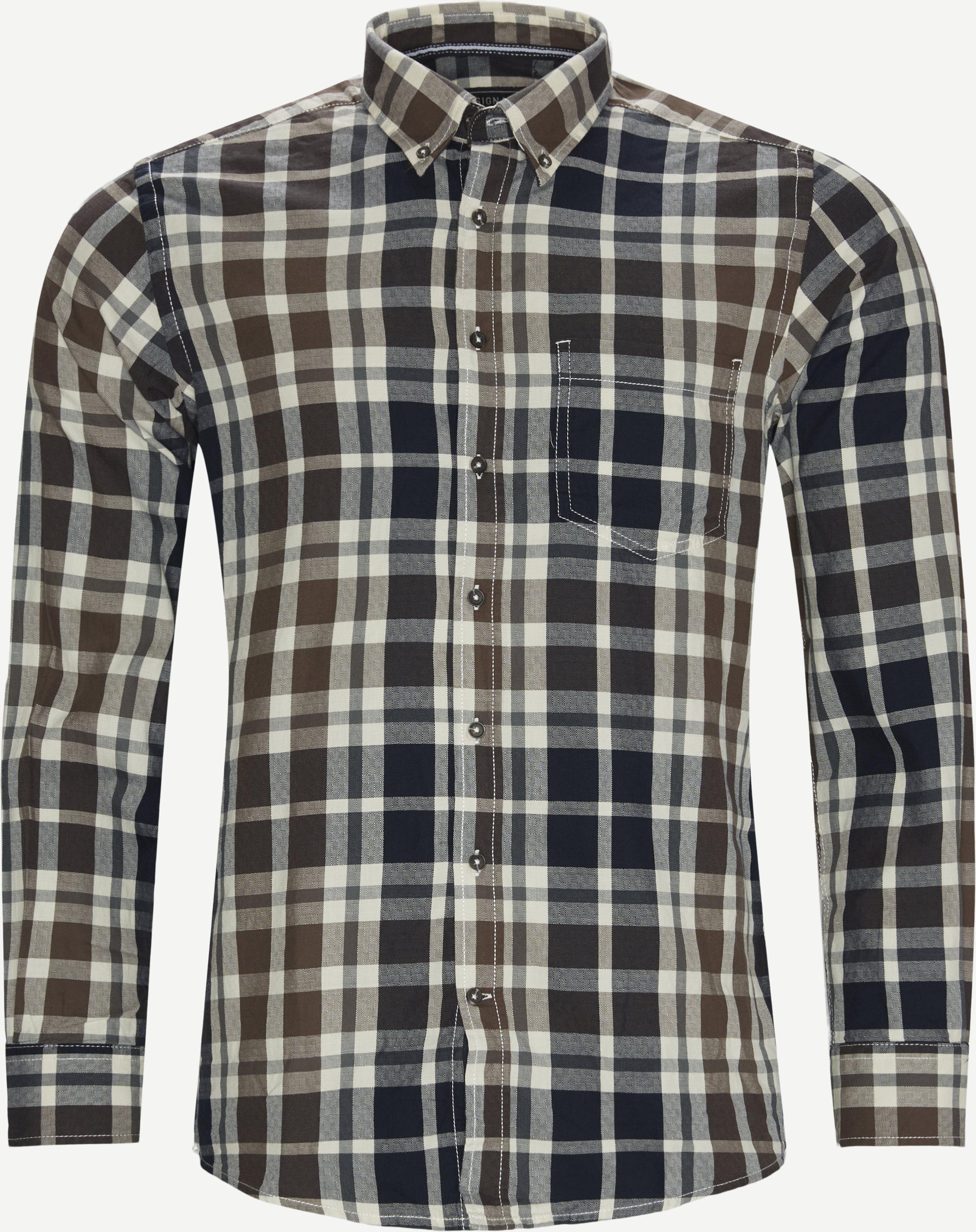 Skjortor - Regular fit - Blå