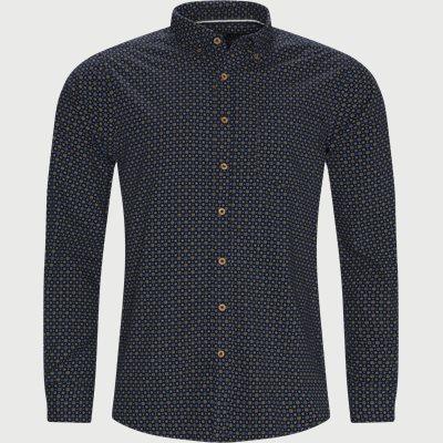 Franne Print Skjorte Regular | Franne Print Skjorte | Blå