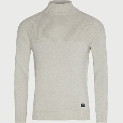 Taylor Mock Neck Sweater Regular | Taylor Mock Neck Sweater | Sand