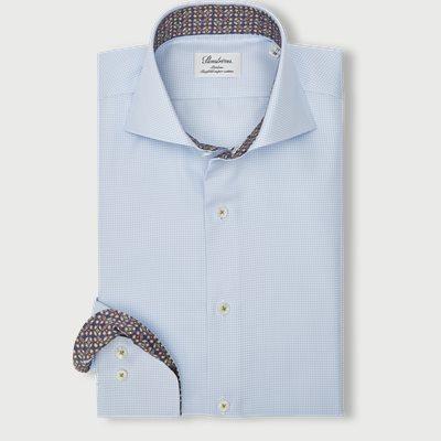 2320 Twofold Super Cotton Skjorte 2320 Twofold Super Cotton Skjorte | Blå