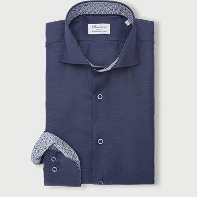 2327 Twofold Super Cotton Skjorte 2327 Twofold Super Cotton Skjorte | Blå