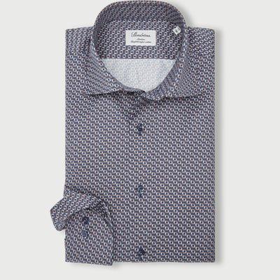8065 Twofold Super Cotton Skjorte 8065 Twofold Super Cotton Skjorte | Blå