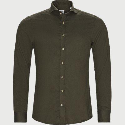 7635 Twofold Cotton Shirt 7635 Twofold Cotton Shirt | Grøn