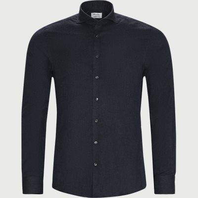 7635 Twofold Cotton Shirt 7635 Twofold Cotton Shirt | Blå