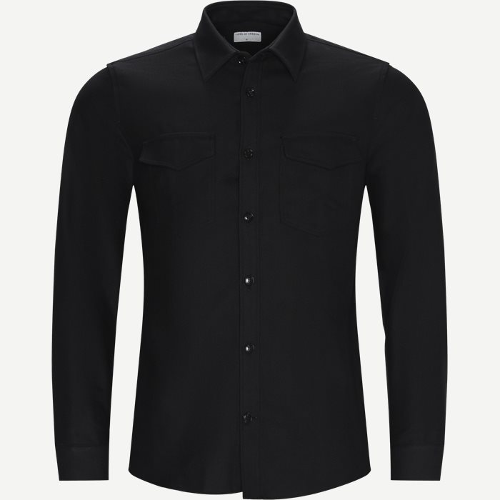 Arnou P Shirt - Blazer - Relaxed fit - Sort
