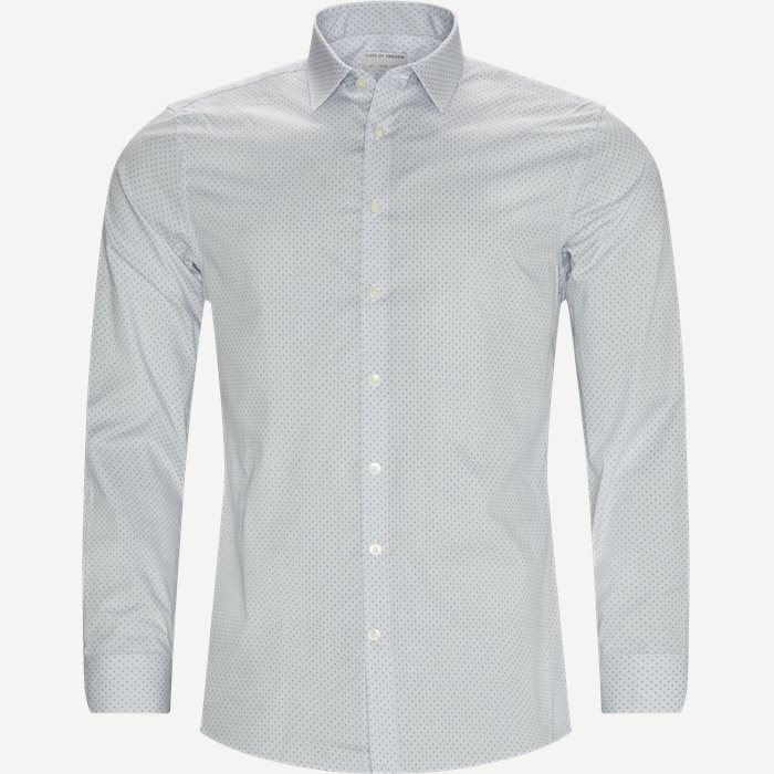 Ferene Shirt - Shirts - Slim - Blue