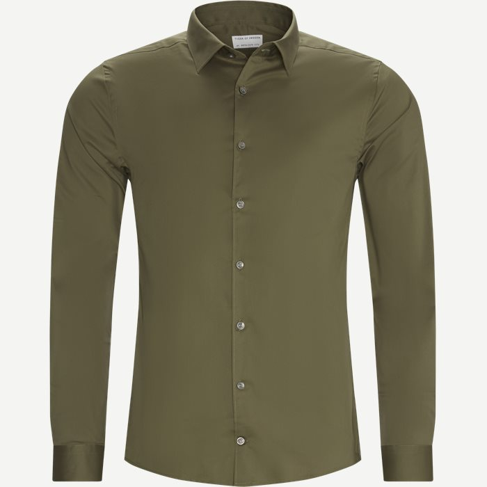 Shirts - Ekstra slim fit - Army