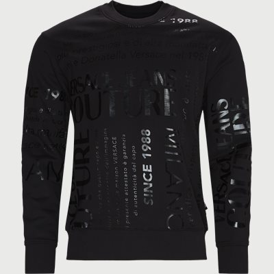Felpa Crewneck Sweatshirt Regular | Felpa Crewneck Sweatshirt | Sort