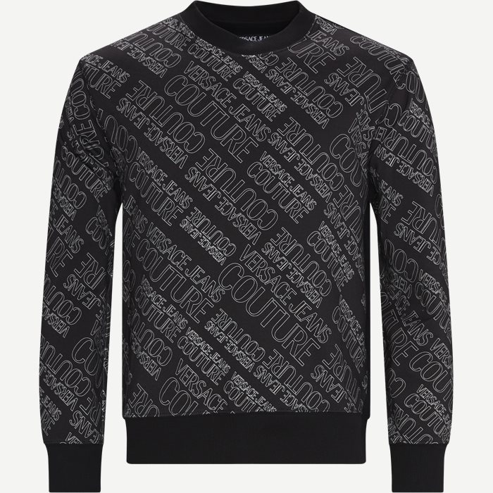 Logomania Crew Neck Sweatshirt - Sweatshirts - Regular - Sort
