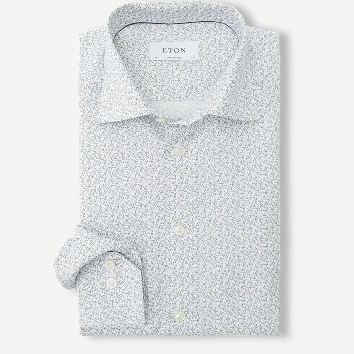508 Poplin Skjorte - Skjorter - Contemporary fit - Blå