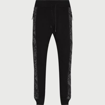 Logomania Sweatpant Regular | Logomania Sweatpant | Sort