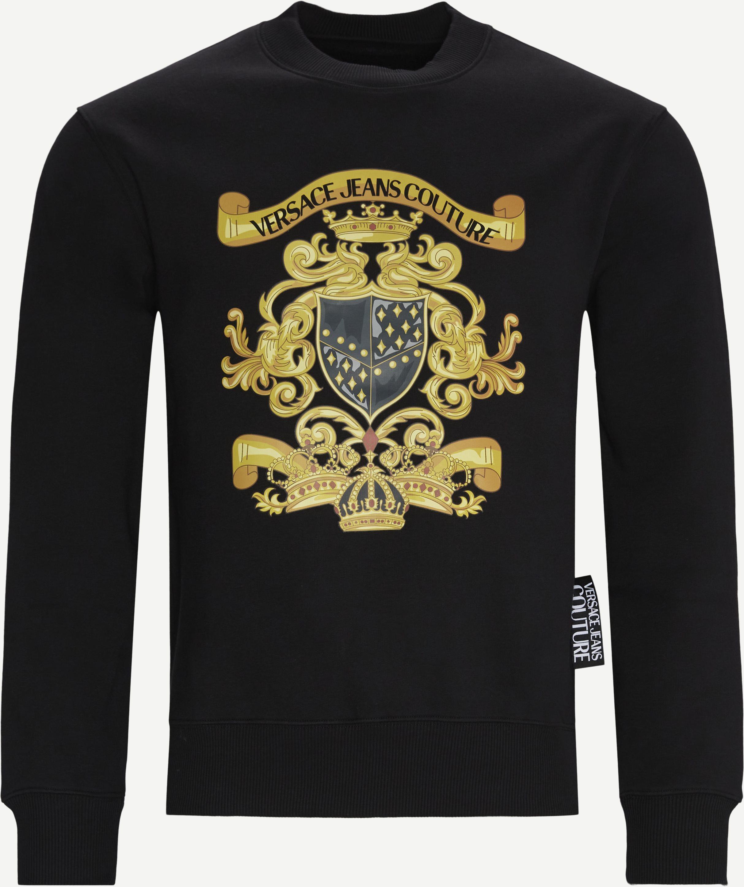 Brushed Evenezia Crewneck Sweatshirt - Sweatshirts - Regular - Svart