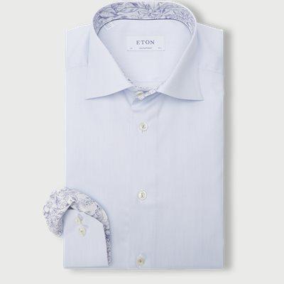 3428 Signature Twill Shirt Contemporary fit | 3428 Signature Twill Shirt | Blå