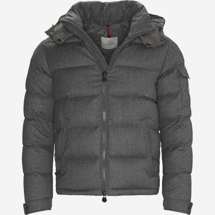 Montgenvre Down Jacket - Jackets - Regular - Grey
