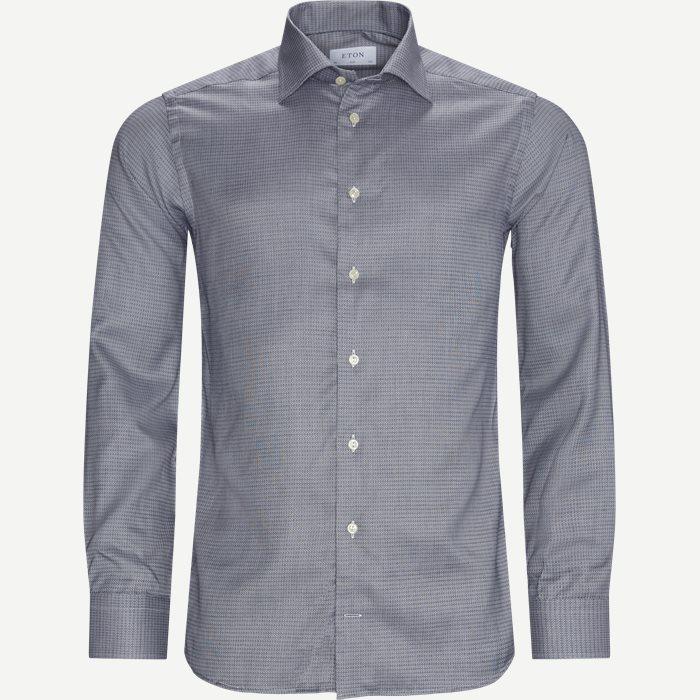 3479 Dobby Shirt - Skjorter - Blå
