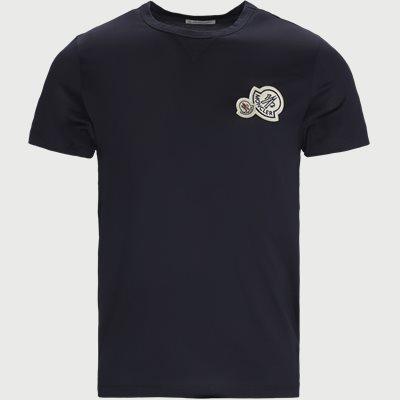 Maglia Logo T-shirt Regular | Maglia Logo T-shirt | Blå