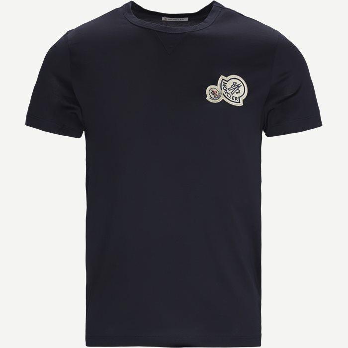Maglia Logo T-shirt - T-shirts - Regular - Blå