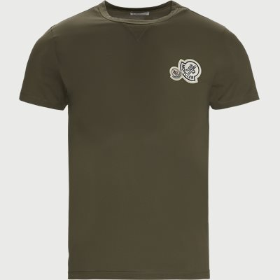 Maglia Logo T-shirt Regular | Maglia Logo T-shirt | Army