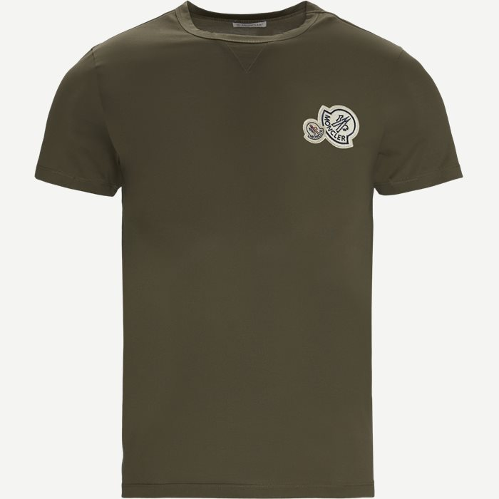 Maglia Logo T-shirt - T-shirts - Regular - Army