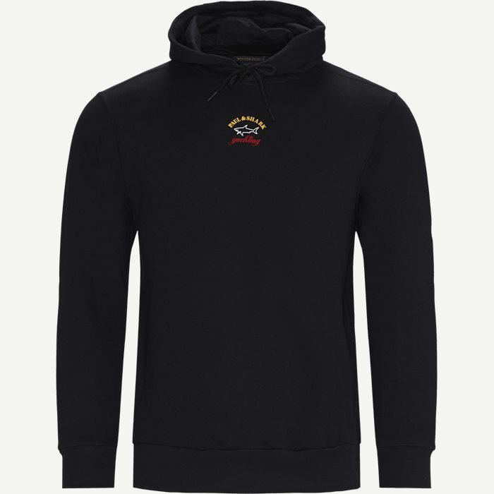 Logo Hoodie - Sweatshirts - Regular - Sort