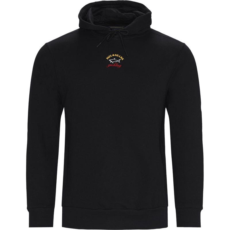 paul & shark – Paul & shark - logo hoodie fra kaufmann.dk
