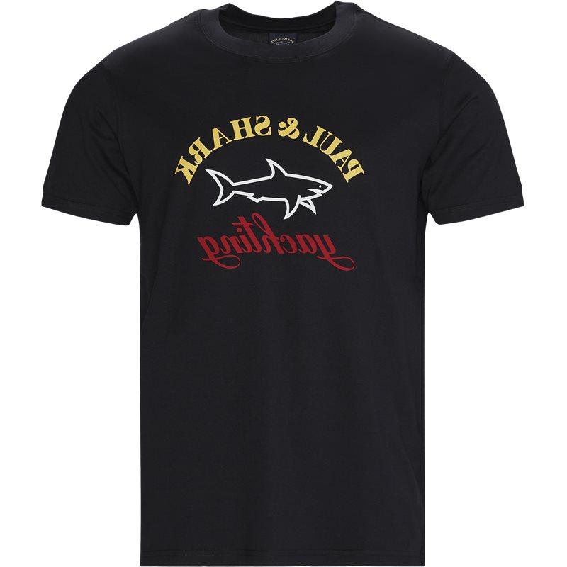 paul & shark Paul & shark - reverse logo t-shirt fra kaufmann.dk